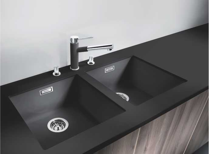 Blanco Sinks Silgranit Stainless Steel Undermount