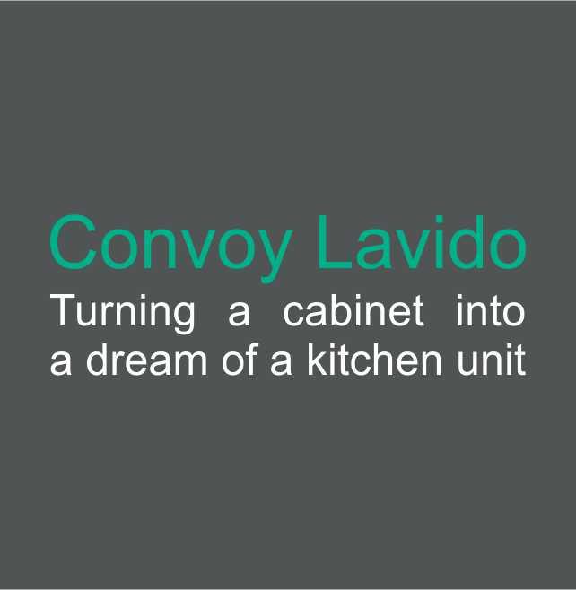 Cyclelogo Lavido on Larson Doors Hardware