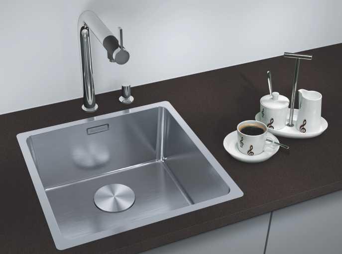Blanco Sinks Silgranit Stainless Steel Undermount